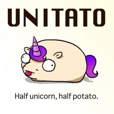 Funny • Unicorn Potato