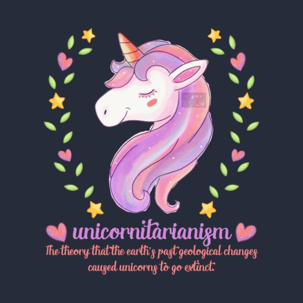 Funny Unicornitarianism Definition Extinct Unicorn