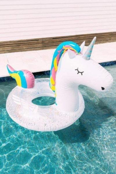 Giant  Unicorn  Pool  Float  Ad