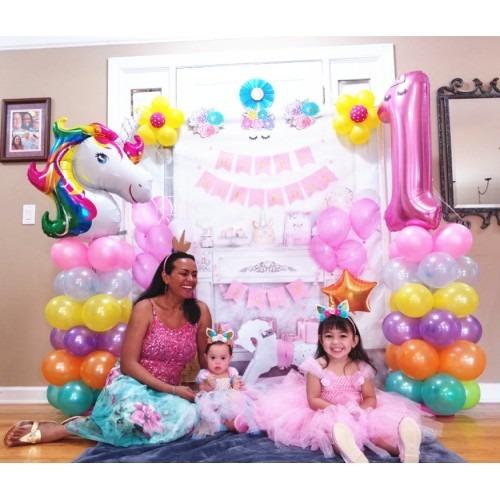 Giant Unicorn Birthday Party Baby Shower Magical Airwalker Balloon