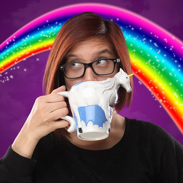Greg Gutfeld Unicorn Coffee Mug