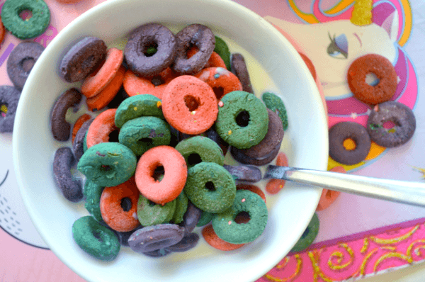 House Vegan  Diy Unicorn Cereal