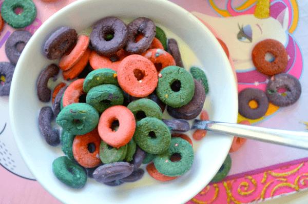 House Vegan  Diy Unicorn Cereal