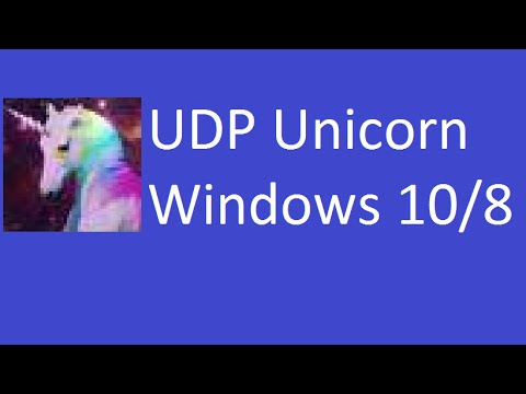 How To Download Udp Unicorn On Windows 10 8 [use Link In The