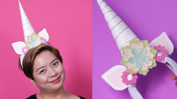 How To Make Your Own ~ Unicorn ~ Headband At Home