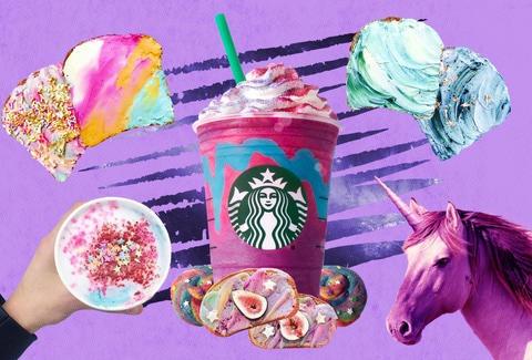 How Unicorn Food Went Viral  Starbucks, Instagram, Superfoods