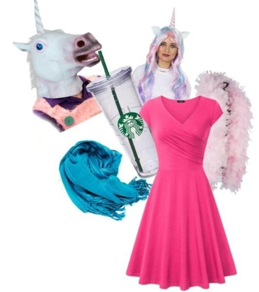 Image Result For Unicorn Frappuccino Costume
