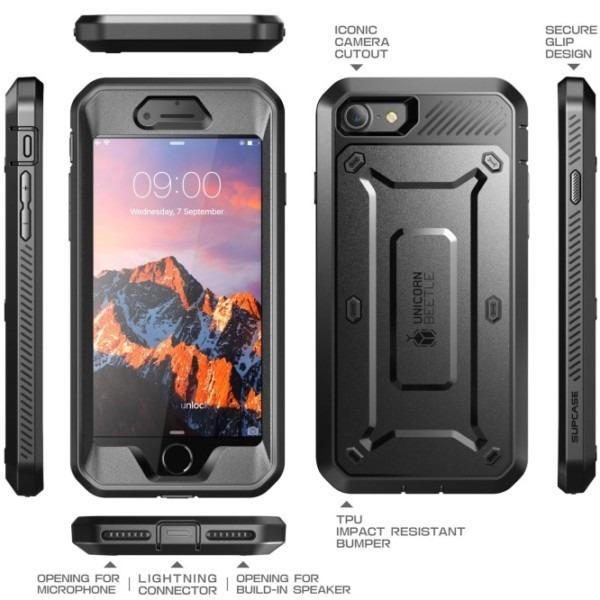 Iphone 7 Plus Unicorn Beetle Pro Holster Case