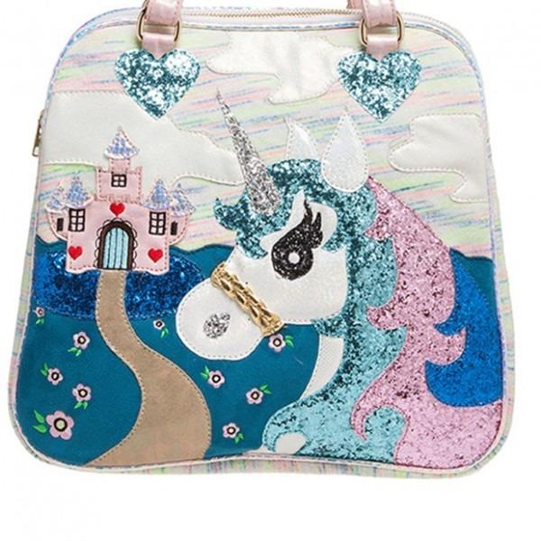 Irregular Choice 'king Of The Castle' Unicorn, Handbag