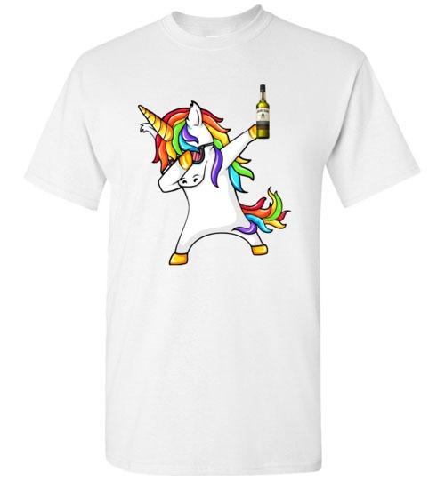 Jameson Irish Whiskey  Unicorn Dabbing Funny Shirts