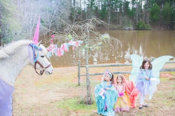 Kara's Party Ideas Magical Unicorns, Fairies & Rainbows Birthday