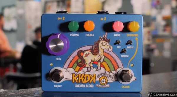 Khdk Unicorn Blood Fuzz & Octave Pedal  Put The Coffee On And Get