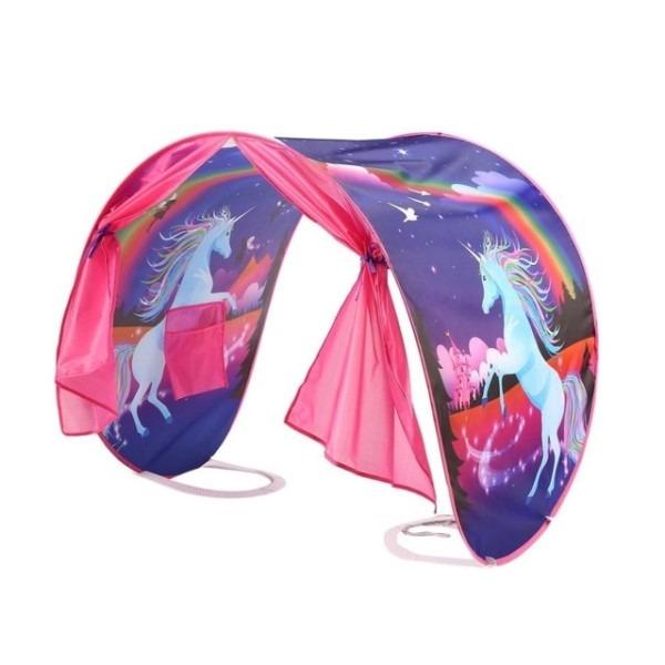 Kids Pop Play Tent Dream Tent Unicorn Girls Secret Castle Bed Tent