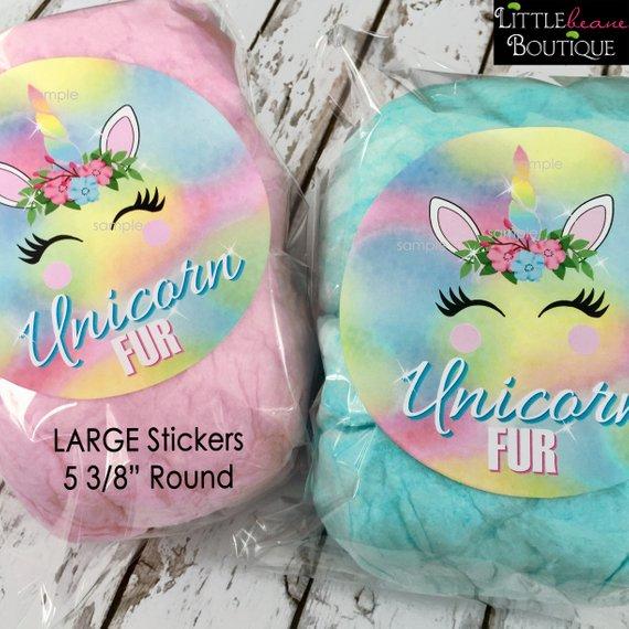 Large Unicorn Stickers,unicorn Party, Unicorn Birthday Party