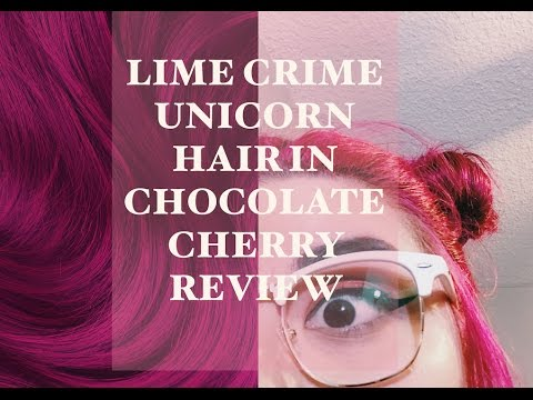 Lime Crime Unicorn Hair In Chocolate Cherry