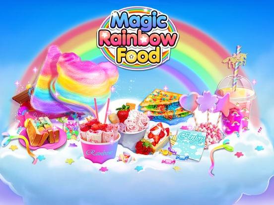 Magic Rainbow Unicorn Foods