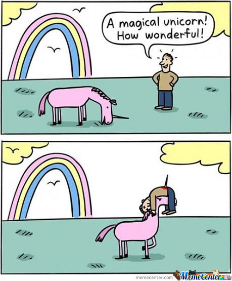Magical Unicorn! By Memecomedysociety