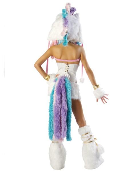 Magical Unicorn Fur Leg Warmers