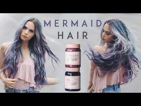 Mermaid Hair Using Limecrime's Unicorn Hair Dye