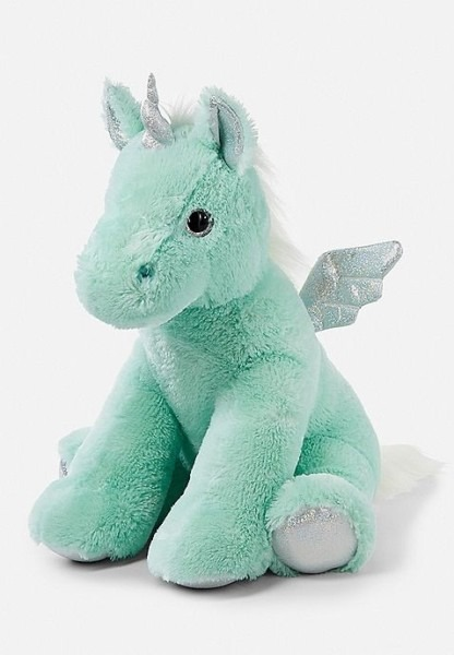Mint Jumbo Unicorn Plush