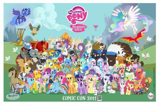 Mlp  Friendship Is Magic Pony Types