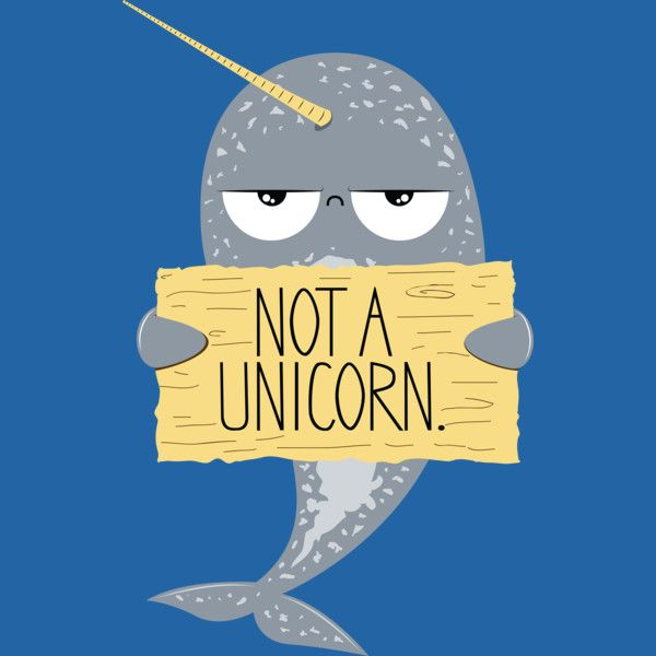 Narwhal Not A Unicorn T Shirt