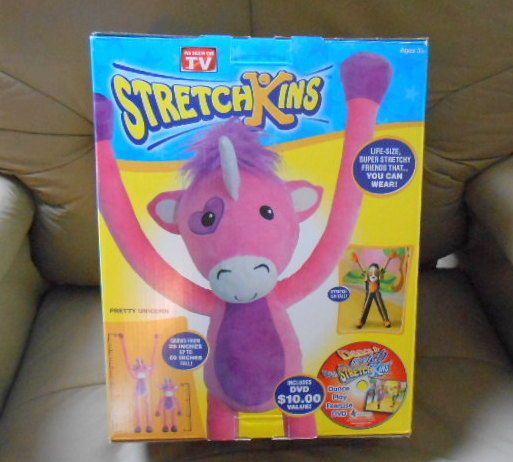 New Stretchkins Pink Unicorn Life
