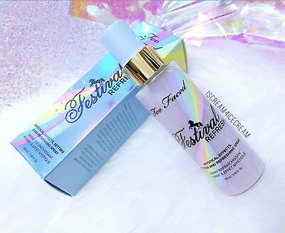 🌈new! Too Faced Festival Unicorn Setting Spray Mystical Effects