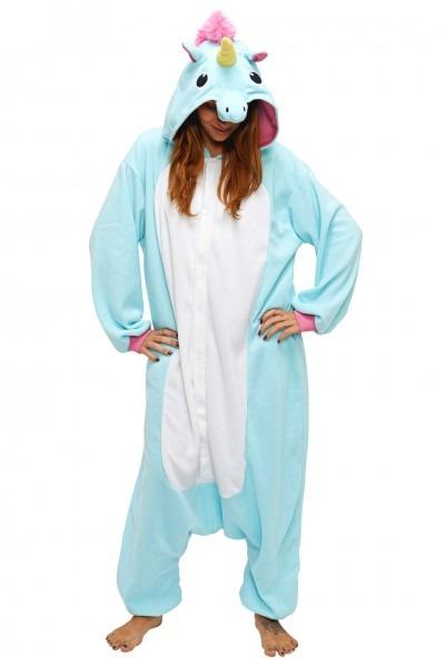 Pajamas, Blue Unicorn Onesie, Aqua Blue, Brand, Store, Price