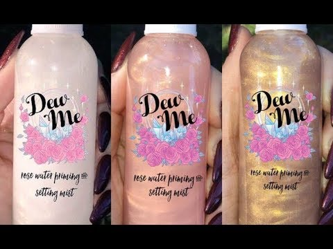 Phoera Dew Me Iridescent Rose Water Priming Setting Spray Review