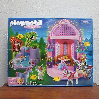 Playmobil Magic 5756 Unicorn Fantasy Land Play Set In Box