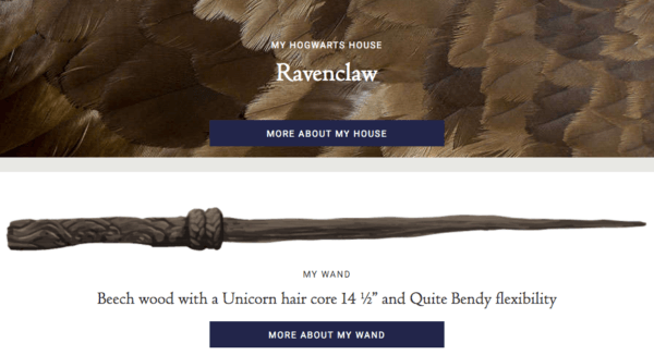 Pottermore Brought Back The Sorting Test! Fun Hp Post Game!