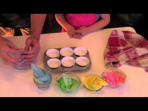 Princess Unicorn Rainbow Cupcakes  Easy! I Made This Video  Please