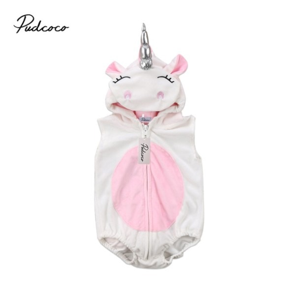 Pudcoco Newest Arrivals Hot Infant Newborn Toddler Unicorn Costume