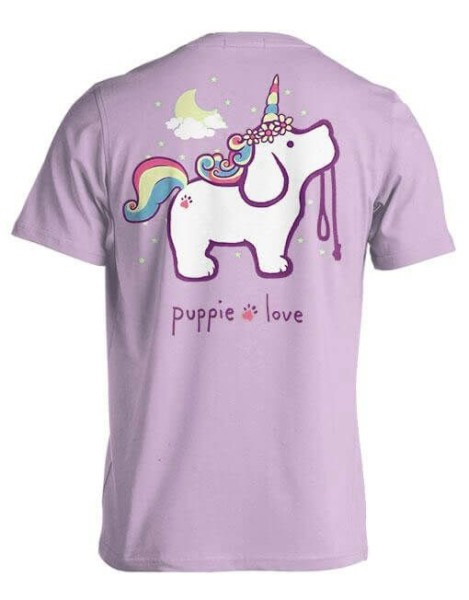 Puppie Love Unicorn Puppy T