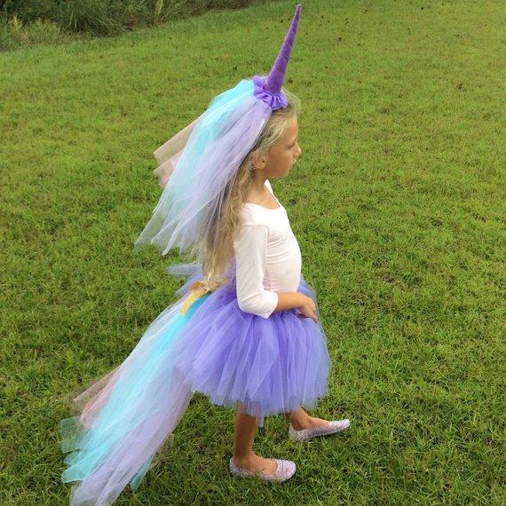 Purple Unicorn Costume Unicorn Halloween Costume Pastel