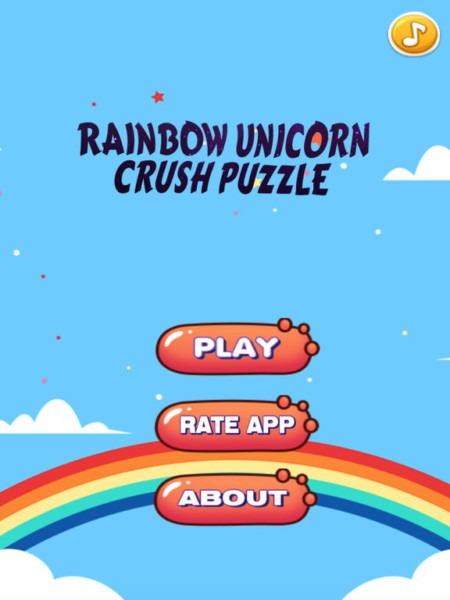 Rainbow Unicorn Crush Match 3