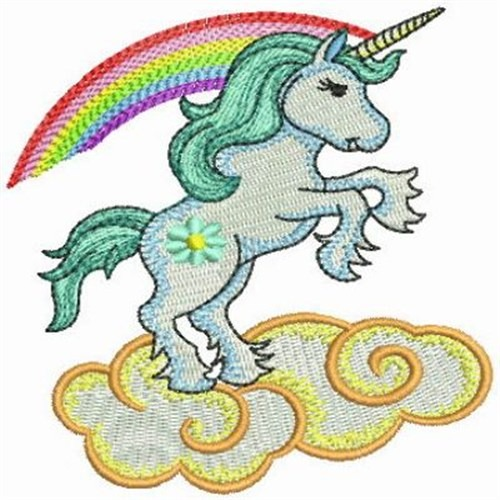 Rainbow Unicorn Embroidery Designs, Machine Embroidery Designs At
