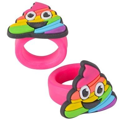 Rainbow Unicorn Poop Ring