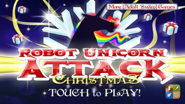 Robot Unicorn Attack Christmas Edition On The App Store