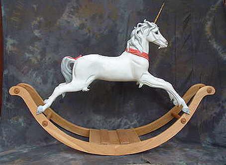 Rocking Unicorn By Legends Rocking Horses