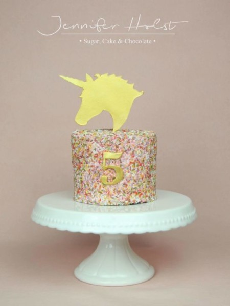Simple Unicorn Cake