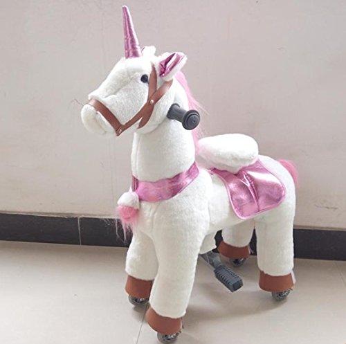 Small Trotting Action Pony Horse White Unicorn Ages 2