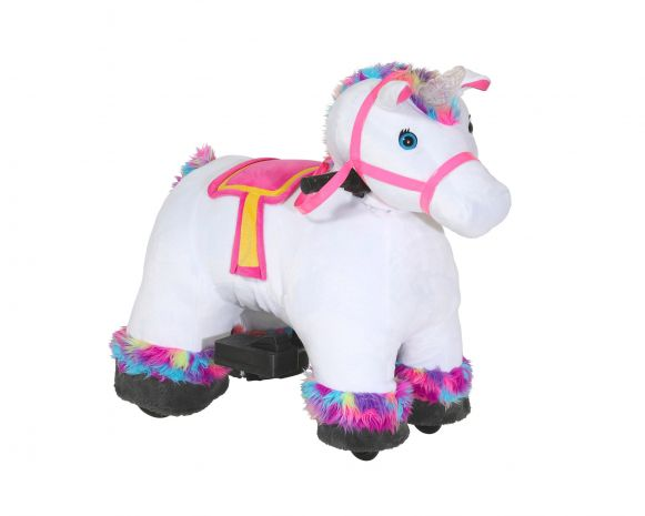 Stable Buddies Willow Unicorn 6v Plush Ride
