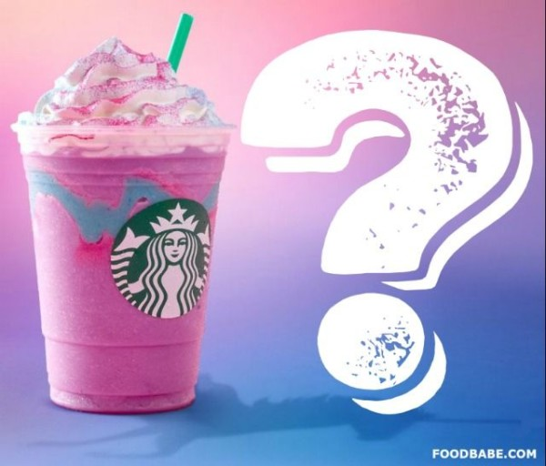 The Worst Ingredient In Starbucks Unicorn Frappuccino & Why You