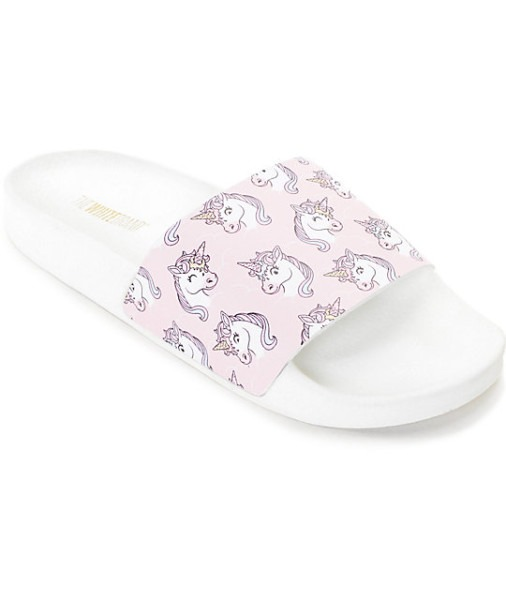 Thewhitebrand Unicorn Slide Women's Sandals