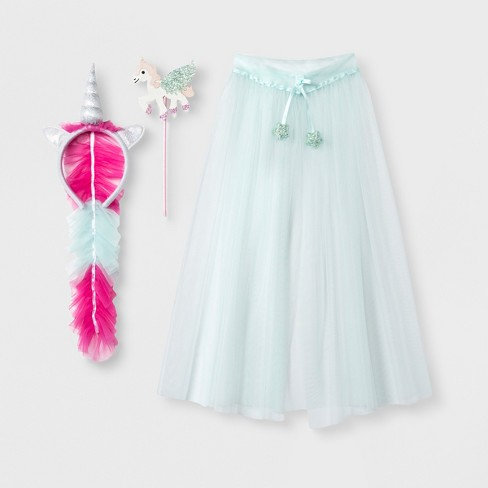 Toddler Girls' 3pc Unicorn Dress Up Set