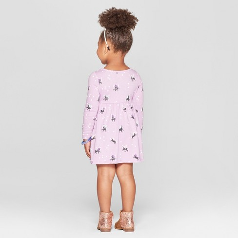 Toddler Girls' Unicorn All Over Print A