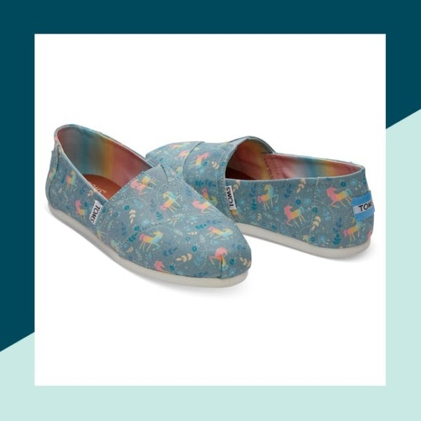 Toms Releases Limited Edition Unicorn Shoe