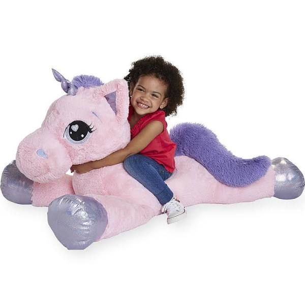 Toys R Us Animal Alley 45 Inch Jumbo Stuffed Unicorn